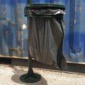 Porte sacs poubelle pour sacs universel