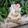 Présentoir d'intérieur pour Ramasse Crottes Cartonné (RCC)