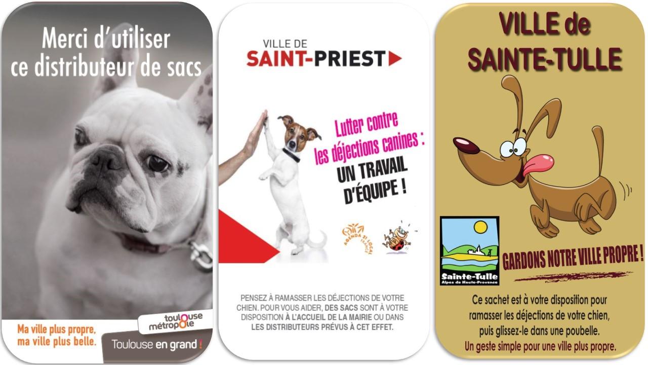 Panneau affiche dejection canines crottes de chiens (1)