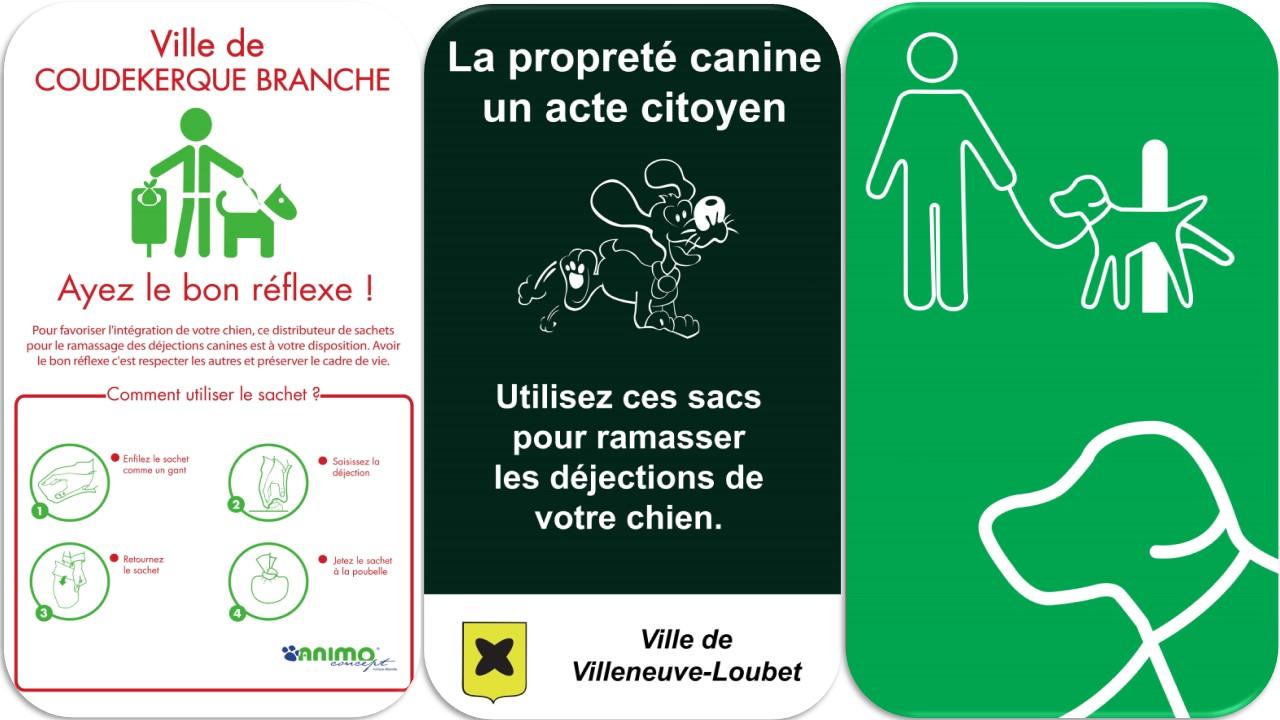 Panneau affiche dejection canines crottes de chiens (10)