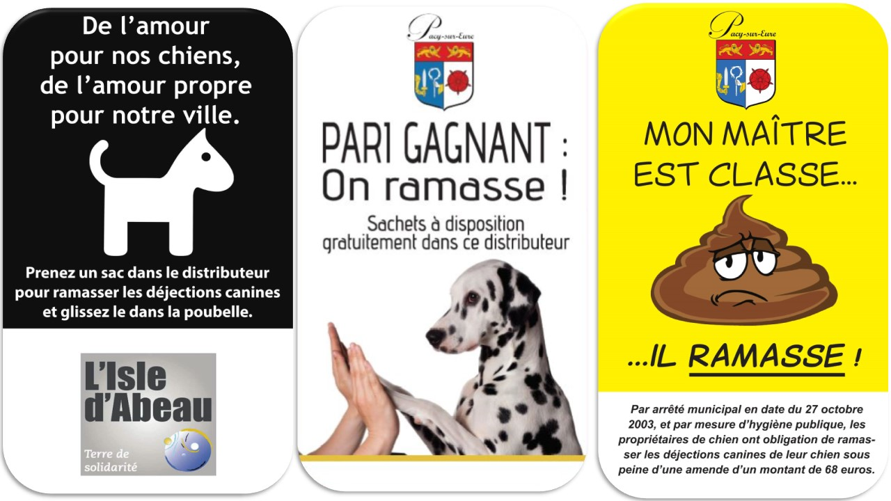 Panneau affiche dejection canines crottes de chiens (11)