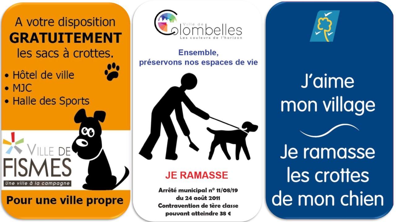 Panneau affiche dejection canines crottes de chiens (4)
