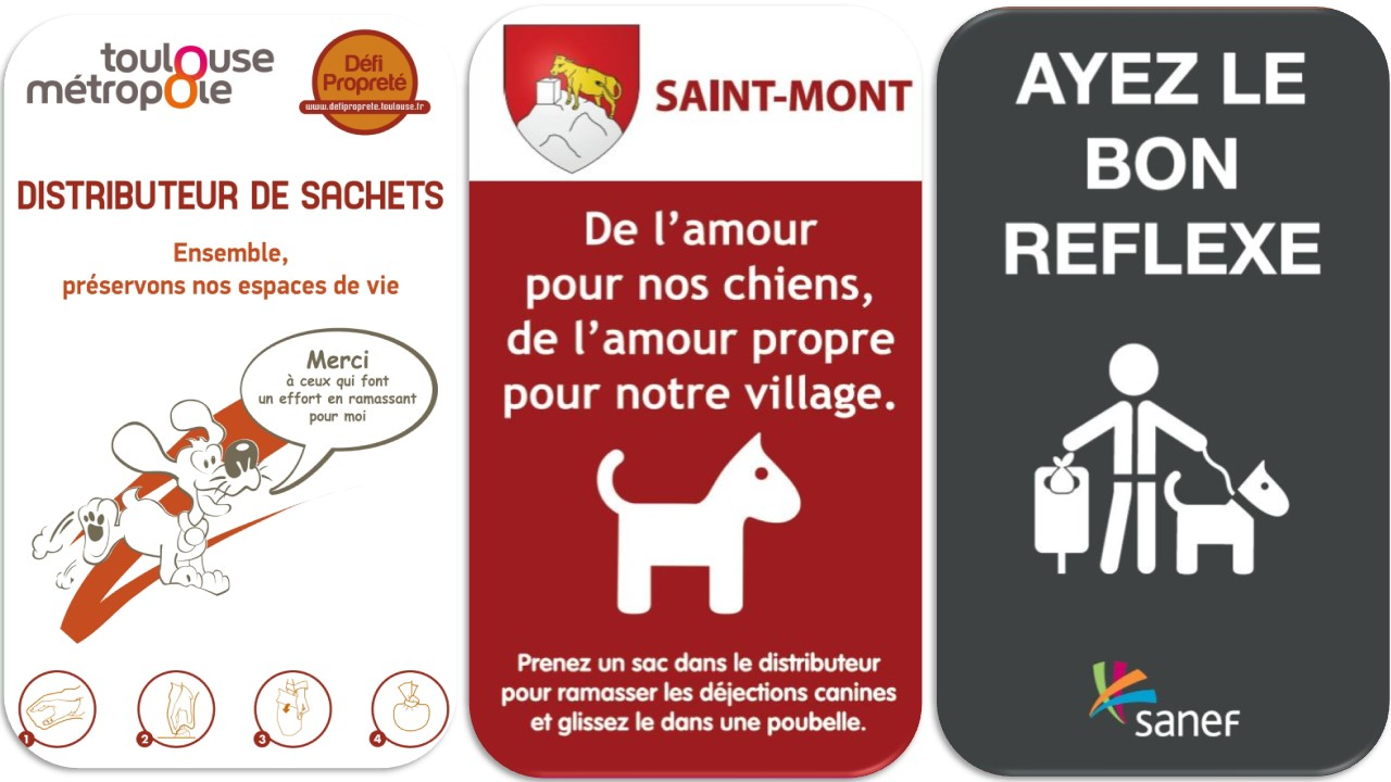 Panneau affiche dejection canines crottes de chiens (8)