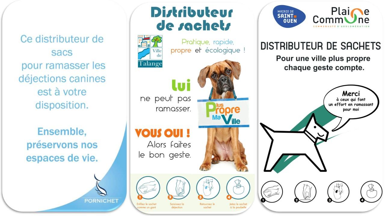 Panneau affiche dejection canines crottes de chiens (9)