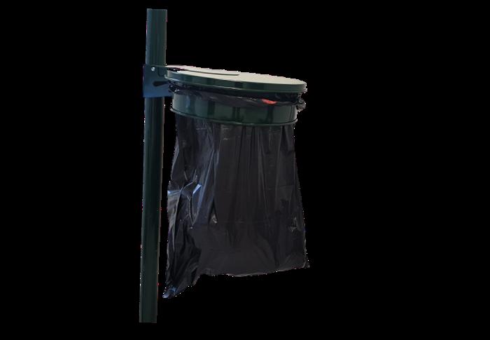 Porte sacs poubelle pour sacs unniversels