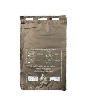sachet canin plastique biodegradable