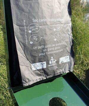Sac canin plastique bio liasse