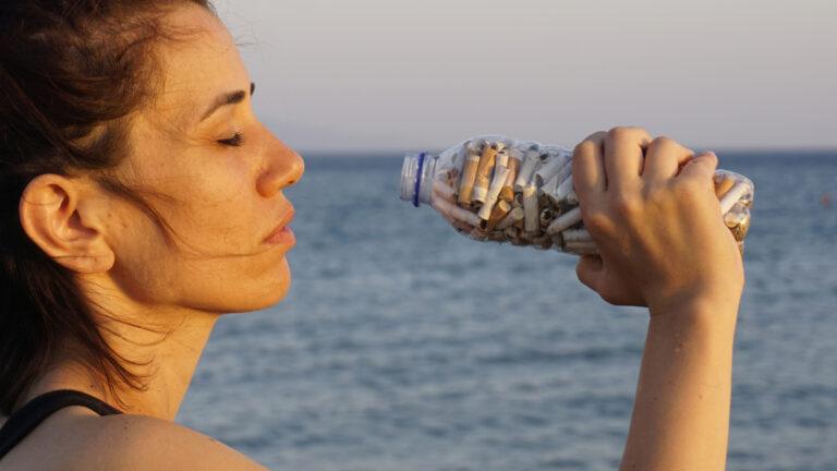 pollution de l'eau mégots