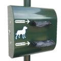 Distributeur de sachets canins<br> en rouleau sur mandrin <br> (Contenance 200 ou 400 sacs) (Copie)