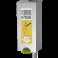 Distributeur cendriers de poche<br> Contenance 200 cendriers