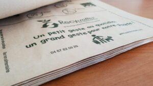 papier biodégradable